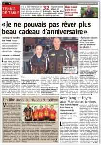 2014-11-21 Artikel Vers L'Avenir