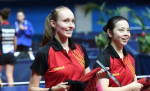 Eline en Lisa Europees Kampioen 2016 Dubbel Juniors